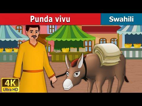Punda vivu - Hadithi za Kiswahili - Katuni za Kiswahili - 4K UHD - Swahili Fairy Tales