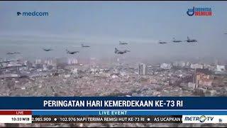 Video Suasana 17 Pesawat Sukhoi Melintasi Langit Upacara Peringatan HUT ke-73 RI di Istana MP3, 3GP, MP4, WEBM, AVI, FLV September 2018