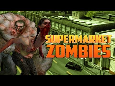 SUPERMARKET ZOMBIES ★ Left 4 Dead 2 (L4D2 Zombie Games)
