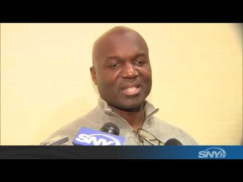 Video: Jets coach Todd Bowles talks Revis release and QB search