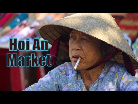 Central Market located in Ancient Hoi An, Vietnam Travel Video