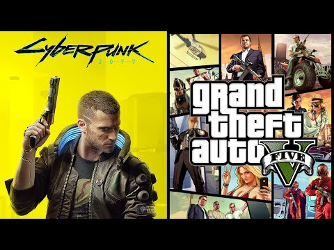 Is Cyberpunk 2077 The BIGGEST Game Since GTA 5? (Cyberpunk 2077 vs. Grand Theft Auto V - New 2020)
