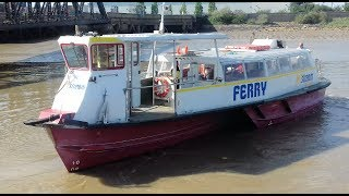 July 2017: Jetstream Tours ''Thames Swift' (a  trimaran fast-ferry design) used to operate the route some 15 years ago and has recently returned and has taken over the Tilbury to Gravesend route.