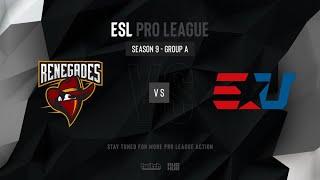 Renegades vs eUnited - ESL Pro League Season 9 NA- map2 - de_mirage [SSW & MintGod]