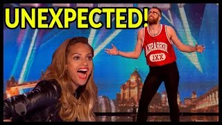 """Video Top 5 Men's """"UNEXPECTED & SHOCKING"""" Auditions EVER That Will BLOW YOUR MIND - Got Talent World! MP3, 3GP, MP4, WEBM, AVI, FLV Maret 2019"""