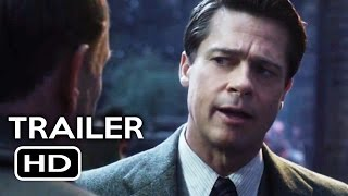 Nonton Allied Official Trailer #1 (2016) Brad Pitt, Marion Cotillard Action Drama Movie HD Film Subtitle Indonesia Streaming Movie Download
