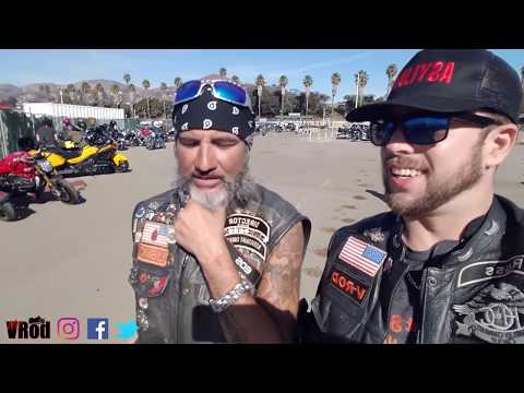 Chopper Fest 14 Motorcycle Show | David Mann | Ventura CA 2018 (видео)
