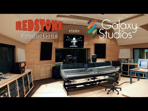 Studio Tour: Galaxy Studios - RedStone Productions