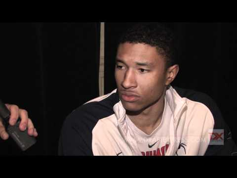 Justin Harper Draft Combine Interview