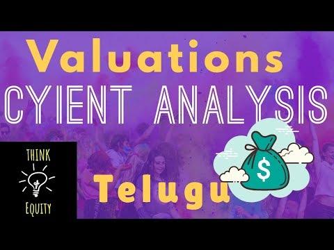 వాల్యూయేషన్స్ - Valuations Analysis - CYIENT Valuation Analysis తెలుగు లొ