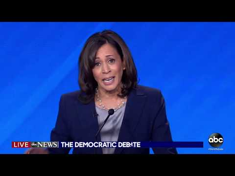 Dem Debate: Sen. Kamala Harris has a message for President Trump