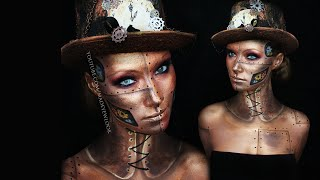 Steampunk Makeup Tutorial | Request - YouTube