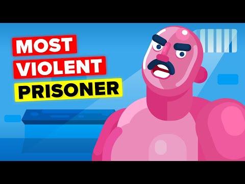 Man So Violent Even Other Prisoners Fear Him