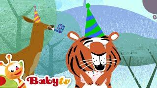 Tricky Tracks Train - Tiger's Birthday | BabyTV