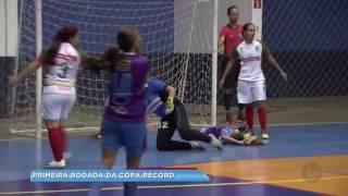 Copa Record de Futsal Feminino agita Marília