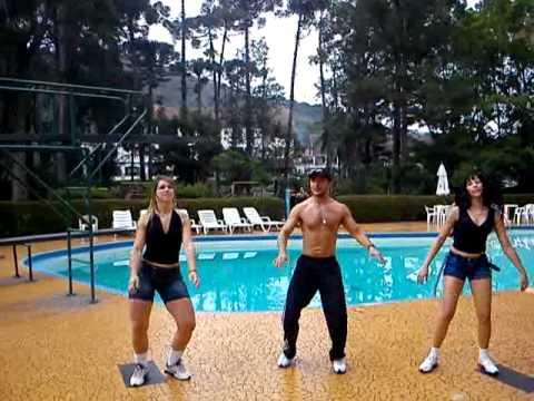 Dança Kuduro - Latino - Ensaio Cia Lambaeróbica Professor Diego