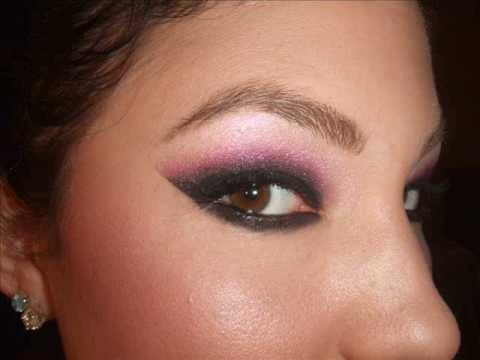 Arabic eye make up tutorial. Arabic eye