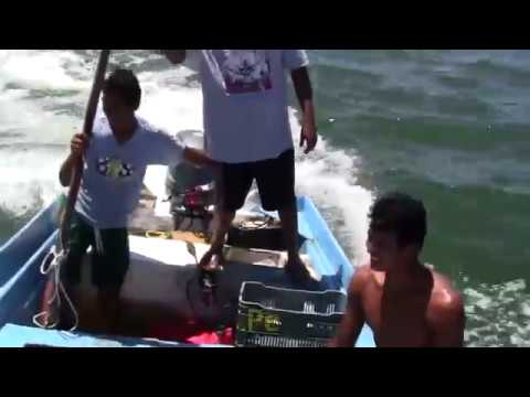 Red Snapper Fishing in Mexico  /  Pesca de Pargo con Cimbra