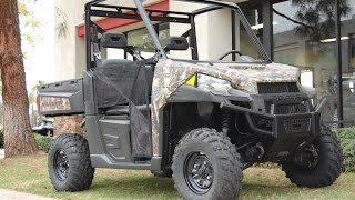 7. 2015 Polaris Ranger 570 Full Size Camo