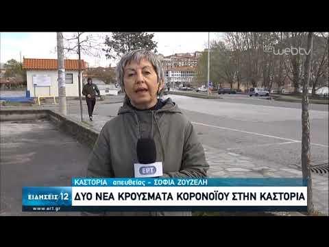 Δύο νέα κρούσματα στην Καστοριά | 16/03/2020 | ΕΡΤ