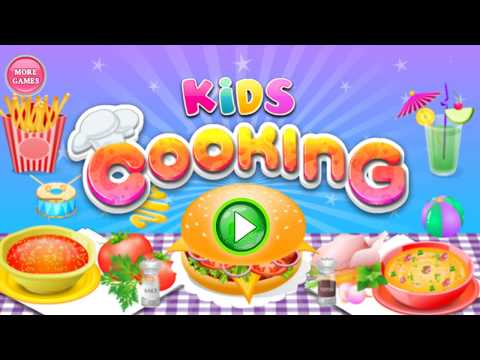 Fun Cooking Grilled Salmon Dishes - Cooking Games For Kids - Play Cooking In The Kitchen