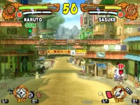 naruto shippuden ultimate ninja 4 playstation 2 cheats