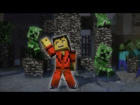 "♫ ""Creeper"" – A Minecraft Parody of Michael Jackson's Thriller (Music Video)"