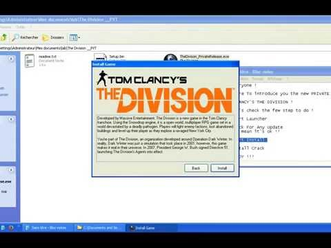 Tom Clancy's - The Division   Crack [ PRIV8T Release ]:  Tom Clancy's cracked software and crack included.Download Here:  - http://uptobox.com/h8926ou5q59s - http://1fichier.com/?4x4lgc3ins - http://uploaded.net/file/o52mgqzd