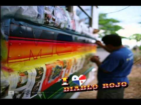 buses panama - Breve reseña sobre los pintorescos Diablos Rojos de Panamá. Nombre con el se conoce el colorido transporte publico de este país que esta pronto a ser sustitu...