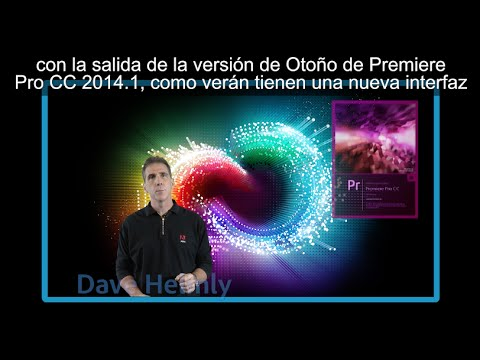 dhelmly - En este video, les daré un tour por todas las nuevas características de la versión 2014.1 de Premiere Pro. Características como la nueva refinada interface, ...