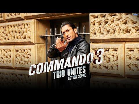 Commando 3 | The Trio Unites | Action Scene | Vidyut J, Adah S, Angira D | Aditya Datt