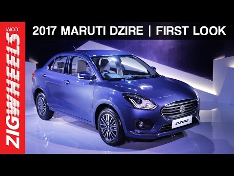 Video 2017 Maruti Suzuki Dzire | First Look | ZigWheels download in MP3, 3GP, MP4, WEBM, AVI, FLV January 2017