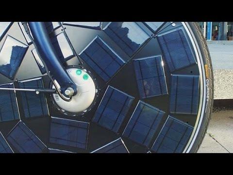 Νέο ηλεκτρικό ποδήλατο με ηλιακή ενέργεια – hi-tech