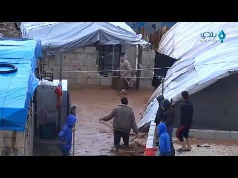 Συρία: Καταστροφικές πλημμύρες σε προσφυγικούς καταυλισμούς…