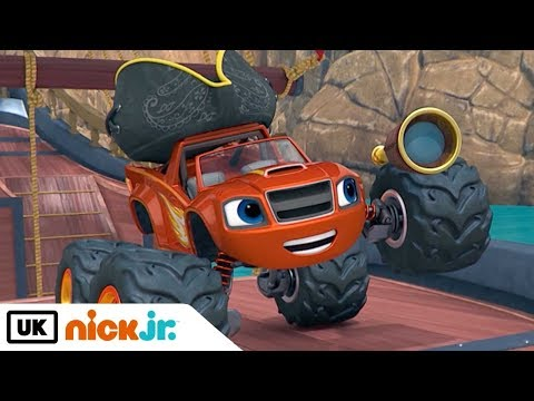 Blaze and the Monster Machines   Race for the Golden Treasure   Nick Jr. UK