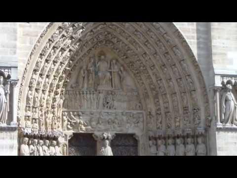 Notre-Dame-de-Paris, The Central Facade