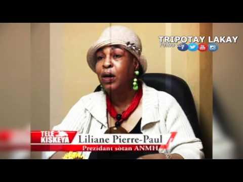 Reyaksyo Liliane Pierre Paul aprè Eleksyon 20 Novanm nan.