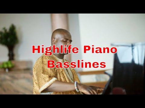 Beginner Highlife Baseline Tutorial In The Key Of C