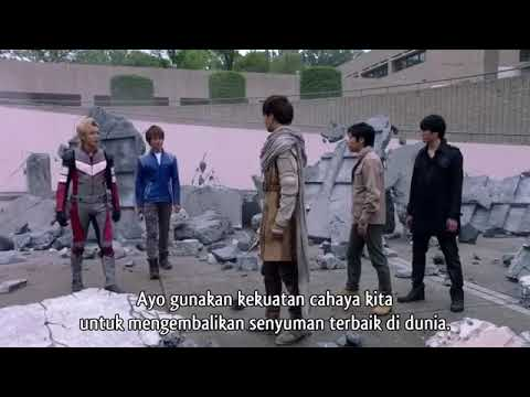 Ultraman Dyna,Gaia,cosmos,Agul dan Orb Fight-The origin saga