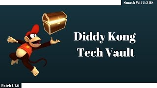 Tech Vault – Underused Diddy Tech in Smash 4 [Zinoto]