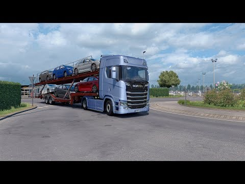 Scania S Low chassis/Air suspension 1.30.x