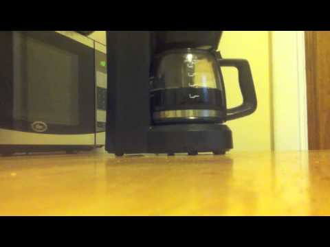How to use Black and Decker Coffee Machine