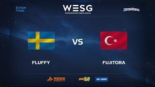Fluffy vs Fujitora, game 1