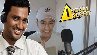 Prank Calling A Crazy Scammer! Fake Customer Support! (Gets Angry)