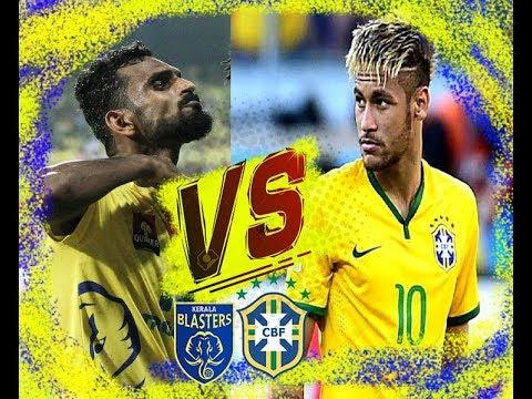 Kerala Blasters VS Brazil MUST WATCH Penalty Moments Hero ISL Vineeth Neymar