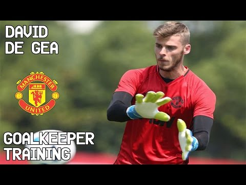 David De Gea / Goalkeeper Training / Manchester United !