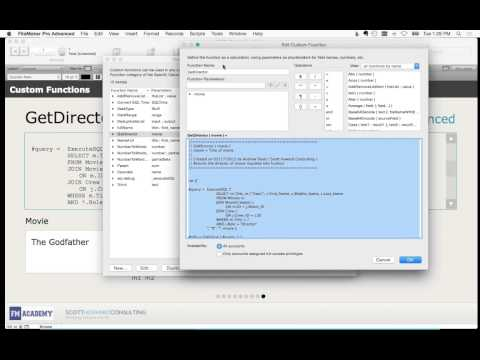 Extending Your FIleMaker Solutions With Custom Functions