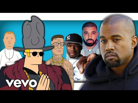 Cartoon Characters RAP Like Famous Rappers! (Kanye West, Drake, 50 Cent & MORE)