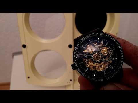 Klarstein St.Gallen-Deux Uhrenbeweger Uhrenkasten mit LED-Beleuchtung