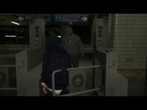 GTA IV messing with pedestrians 5 (Funny bloopers and silly stuff)